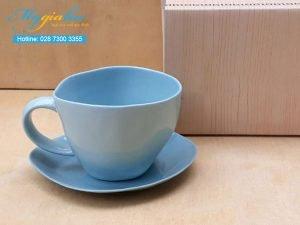 Tách Cafe Đất Màu 300ml Mẫu 3