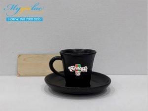 Tách Cafe Men Mát 60ml In Logo Vinacafe