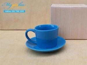 Tách Cafe Men Màu 140ml Mẫu 4