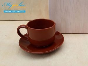 Tách Cafe Men Màu 165ml Mẫu 6