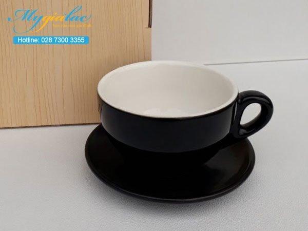 Tách Cafe Men Màu 220ml Mẫu 3
