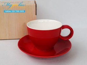 Tách Cafe Men Màu 250ml Mẫu 7