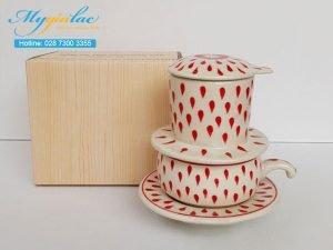 Tách Cafe Vẽ Tay Mẫu 3