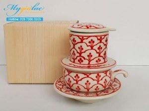 Tách Cafe Vẽ Tay Mẫu 5