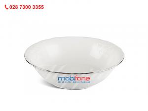 Tô Đài Các Chỉ Bạch Kim In Logo Mobifone