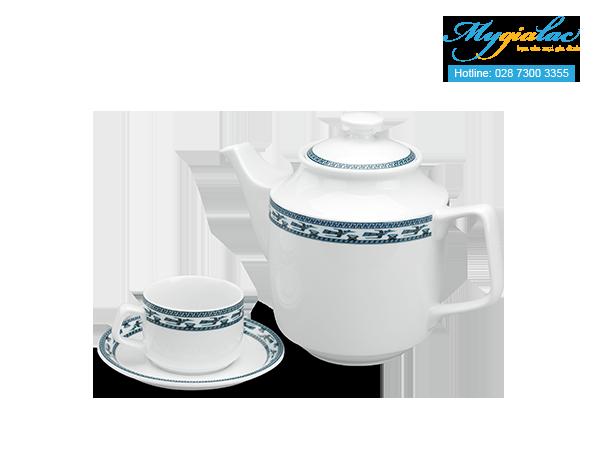 Bộ trà Jasmine Chim Lạc 1.1L-1