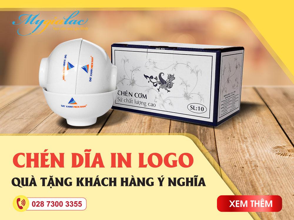Banner In logo tô chén dĩa