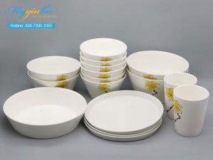 Bộ đồ ăn sứ màu TSM 11005