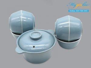 Bộ đồ ăn sứ màu TSM 11004
