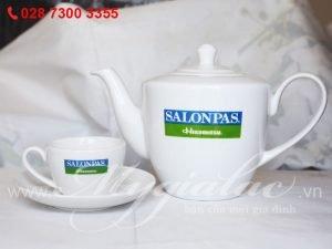 Bộ Trà In Logo Salonpas