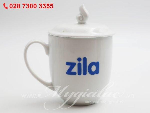 Ca Sứ In Logo Zila