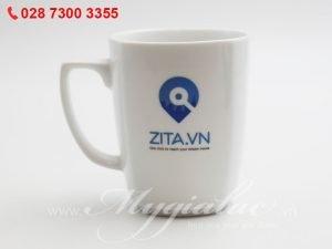 Ca Sứ In Logo Zita