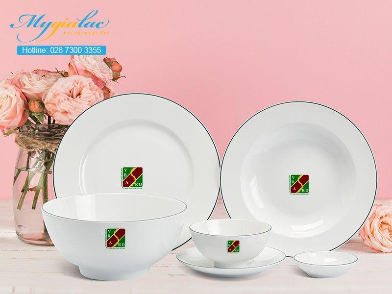 Quà Tặng 20-10 bộ bàn ăn Minh Long in logo Agribank