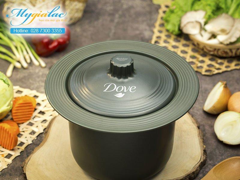 Quà Tặng 20-10 nồi sứ Minh Long in logo Dove