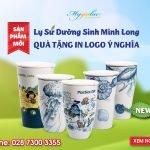 Sản Phẩm Mới: Lý Sứ Dưỡng Sinh Minh Long In Logo Làm Quà Tặng