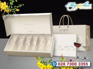 Quà tặng khách hàng vip - Quà tặng tết bộ ly thủy tinh Lucaris