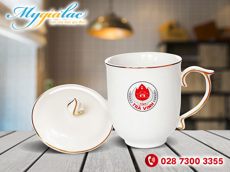 Ca Mau Don Vien Chi Vang In Logo Tinh Tra Vinh