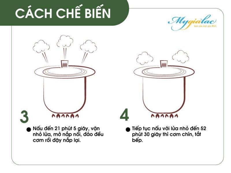 Cach Nau Gao Lut Bang Noi Su Duong Sinh Cach Che Bien 2