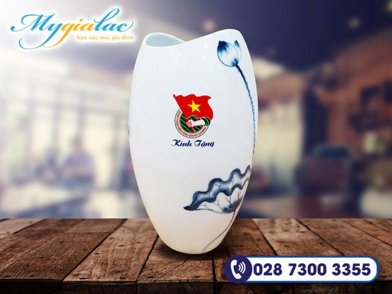 Qua Tang Dai Hoi Binh Hoa Bat Trang 8 In Logo