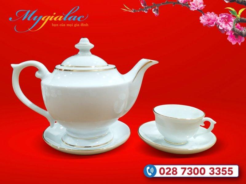Quà tặng tết cho doanh nghiệp bộ trà Bát Tràng