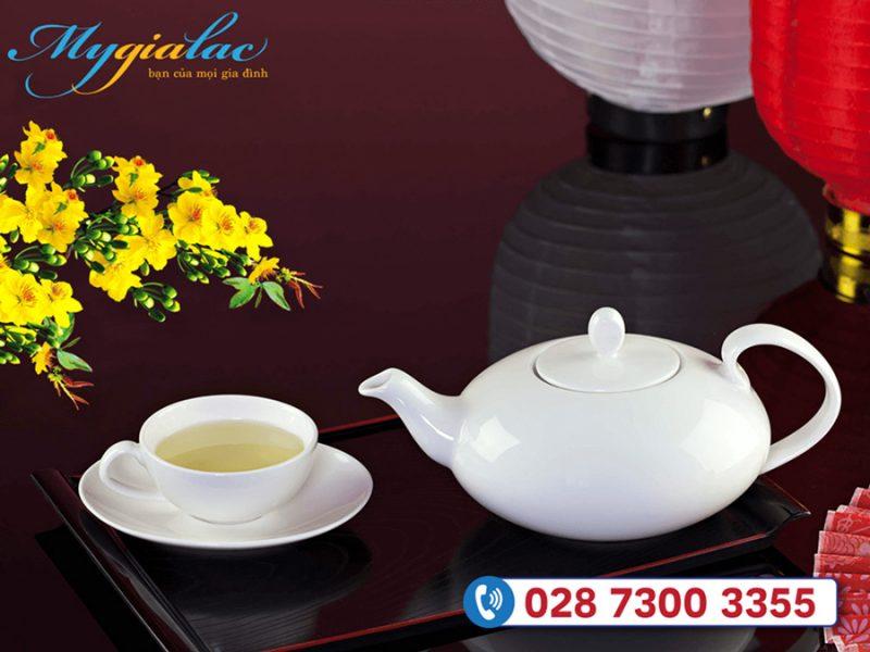Quà tặng tết cho doanh nghiệp bộ trà elip