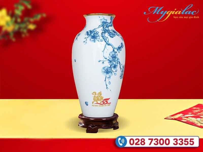 Qua Tang Tet Du An Da Thuc Hien Binh Hoa In Logo Vicem