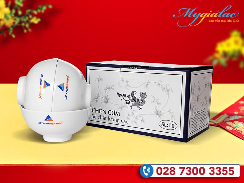 Qua Tang Tet Du An Da Thuc Hien Bo Chen In Logo Dat Xanh