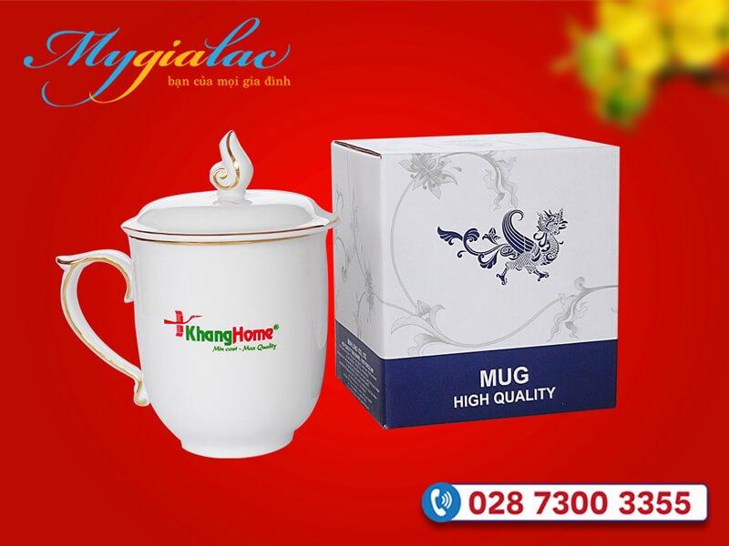 Qua Tang Tet Du An Da Thuc Hien Ca Mau Don Vien Chi Vang In Logo Khang Home