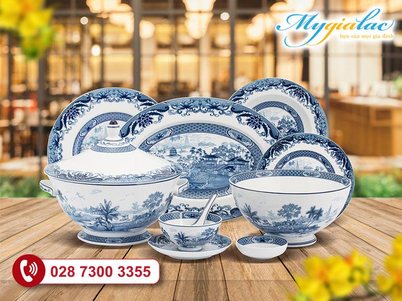 Bộ đồ ăn Minh Long Hoàng Cung Hoàng Việt