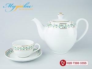 Bộ trà Camellia Ngọc Diệp 0.8L