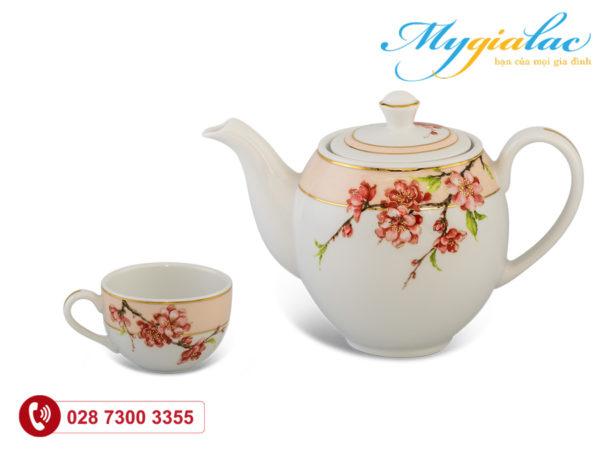Bộ trà Camellia Hoa Đào 0.8L