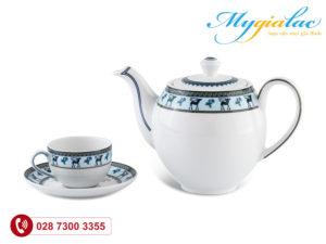 Bộ trà Camellia Lộc Lạc 0.8L-1