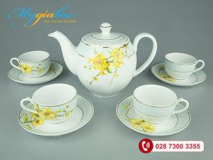 Bộ trà Camellia Hoa Mai 0.8L