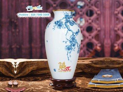 In Logo Len Gom Su Binh Hoa Minh Long