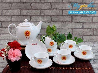 In Logo Len Gom Suam Tra Bat Trang