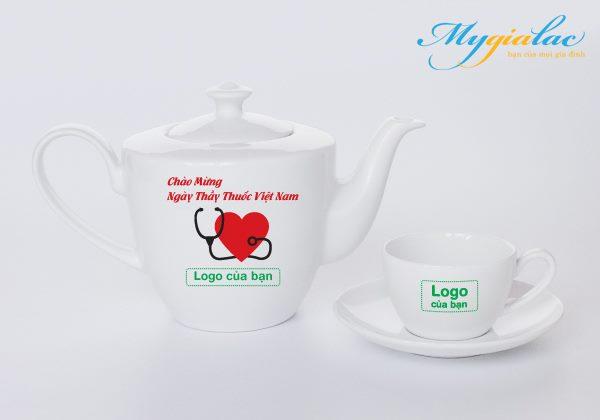 Quà Tặng Ngày Thầy Thuốc Việt Nam bộ trà Daisy Trắng