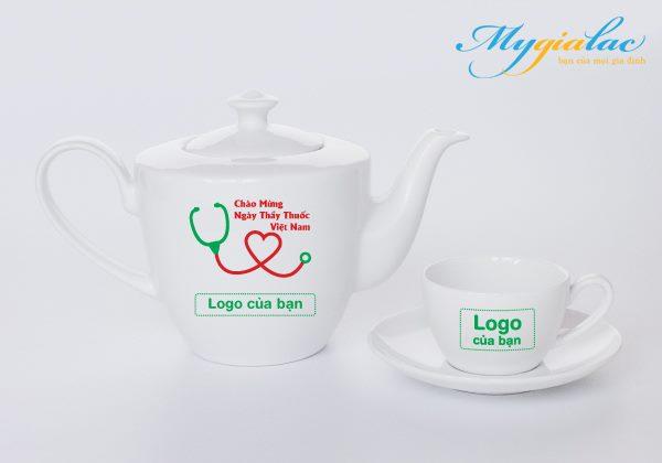 Quà Tặng Ngày Thầy Thuốc Việt Nam bộ trà Minh Long