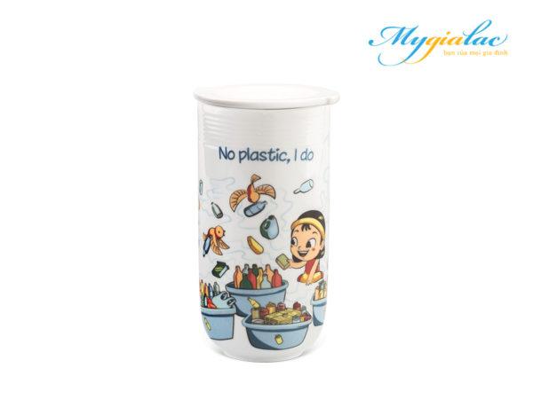 Ly sứ dưỡng sinh 0.48 L (K4) - Tấm Cám