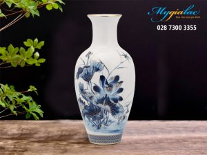Binh Hoa 30cm Sen Vang 1