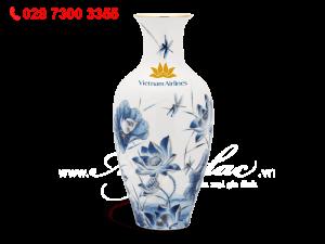 Binh Hoa 40cm Sen Vang.2