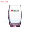 Ly Cao Thuy Tinh Luminarc Salto Pink 350ml In Logo
