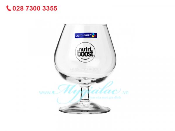 Ly Ruou Thuy Tinh Luminarc Cognac 250ml G2629 Inlogo