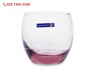Ly Thap Thuy Tinh Luminarc Salto Pink 320ml J5386