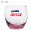 Ly Thap Thuy Tinh Luminarc Salto Pink 320ml In Logo