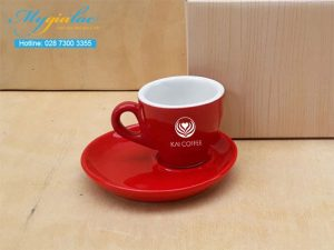Tach Cafe Men Mau 80ml In Logo Kai Coffee