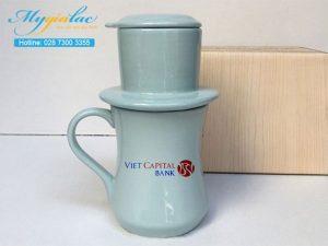 Tach Cafe Men Mau In Logo Vietcapital Bank