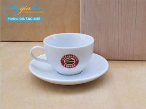 Tach Cafe Su Trang 165ml Highlands Coffee
